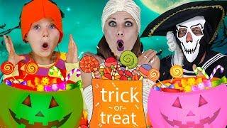 Halloween songs for kids   Finger family   Baby Shark  Knock Knock Trick Or Treat?  Olivia Kids Tube