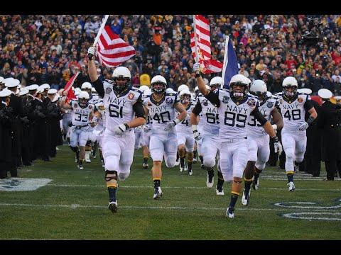 2016 American Football Highlights - Navy 28, UConn 24