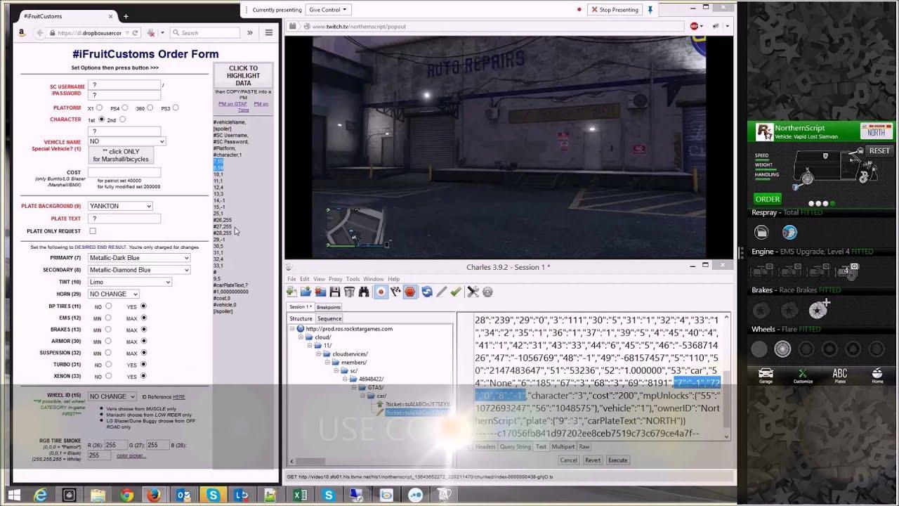 Mod/PAINT Lost Slamvan (Slamvan2) iFruit *XBOX ONE/PS4* GTA V Online