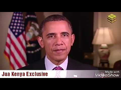 Barack Obama's Message of Peace to Kenya for August 8th Elections. Obama's elections Messages