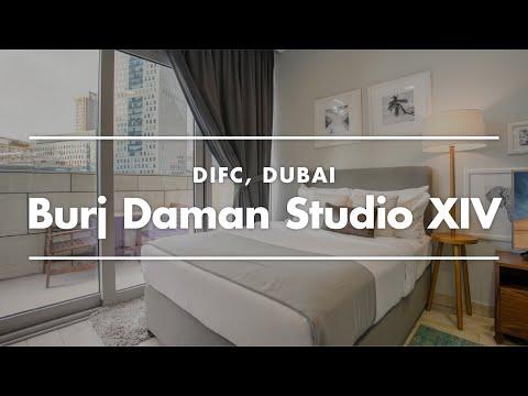 Dubai Apartment Tour | Furnished Studio In DIFC, Dubai