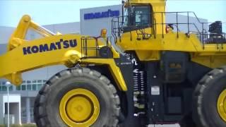 Komatsu wheel loader WA1200