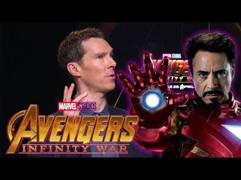 Benedict Cumberbatch Impersonates Avengers Infinity War Casts