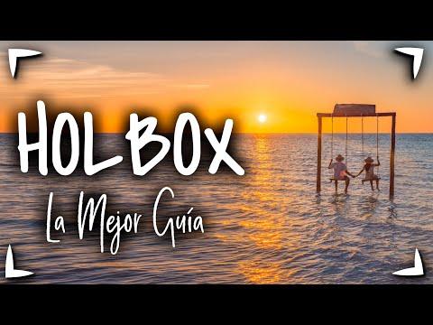 HOLBOX MEXICO 🔴 Guia Completa ► Que hacer en 2 - 3 dias ISLA HOLBOX ✅ biouminiscencia murales y más
