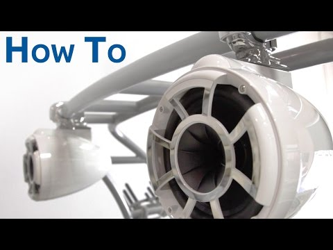 How To Install Marine Tower Speakers