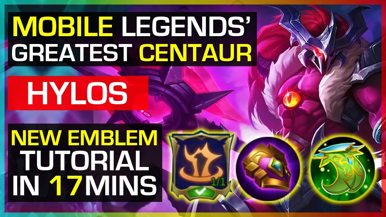 WHY HYLOS IS PERFECT FOR THE NEW TANK EMBLEM | HYLOS RANK GAMEPLAY BY HONDA BEAST