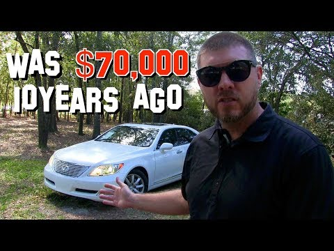 Here's a Tour of this $70,000 2007 Lexus LS460 LWB - 10 Years Later Review