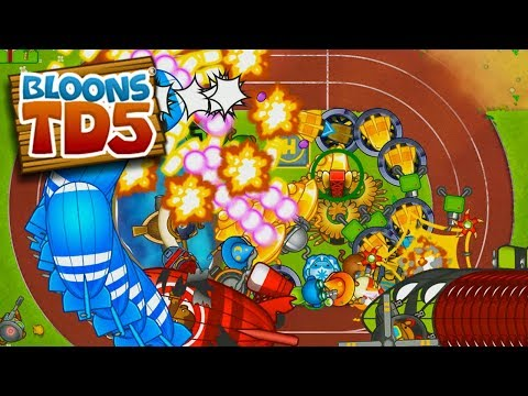 THIS IS GETTING TOO CRAZY! - Bloons TD 5!