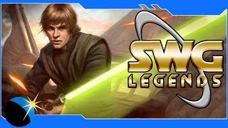 SWG Legends - Star Wars Galaxies Reborn! Gameplay, Housing, and Jump to Lightspeed