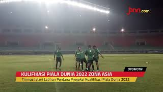 Timnas Indonesia Latihan Perdana: Andik Absen, Irfan Jaya Telat Datang