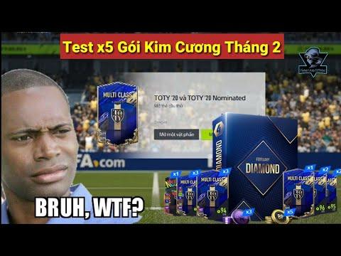 FIFA Online 4 : Test x5 Gói Kim Cương Tháng 2 Mới Chúng Ta Sẽ Được Những Gì?
