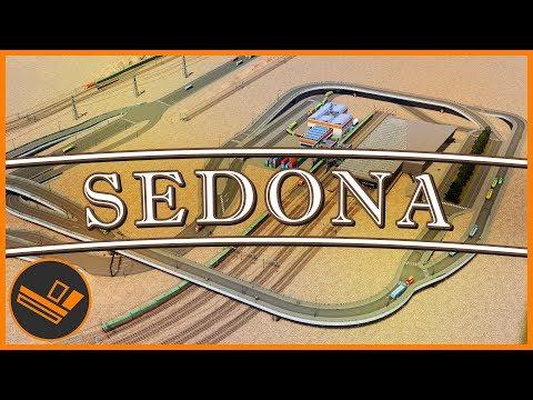 Sedona - Part 60   TRAIN EXCHANGE (Cities: Skylines)