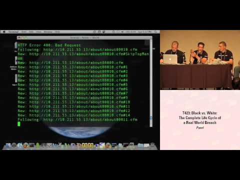 DEF CON 16 Hacking Conference Presentation By Panel - Black vs White - Video and Slides
