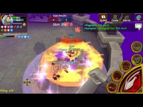 Arcane Legends Pvp Build Warrior Level 61 (Legendary Set)