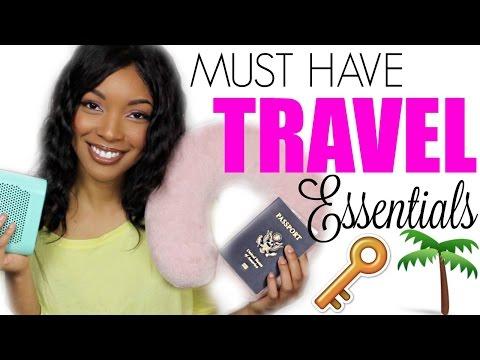 Travel  Essentials EVERYONE SHOULD HAVE !!!!   Brittany Daniel