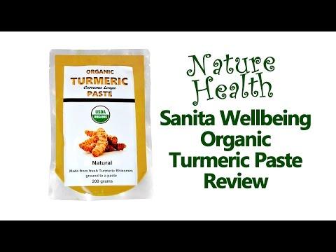 Review: Organic Turmeric Paste by Sanita Wellbeing - plus turmeric rice recipe