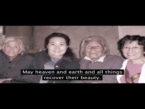 """Healing River Film on """"Comfort Women"""" Japanese military sex slavery survivors with Healing Theme"""