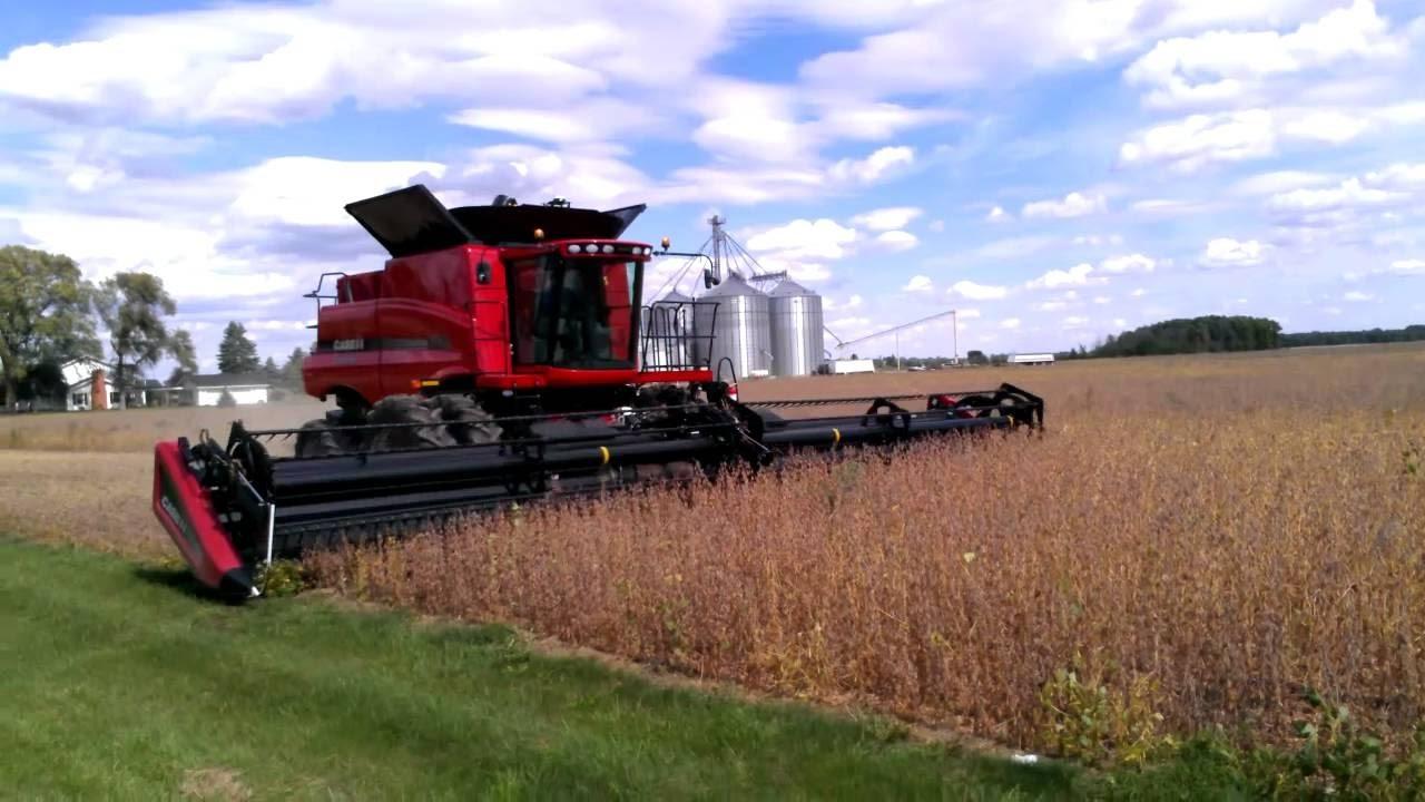 90FT massive header Case IH test mod Farming Simulator 17