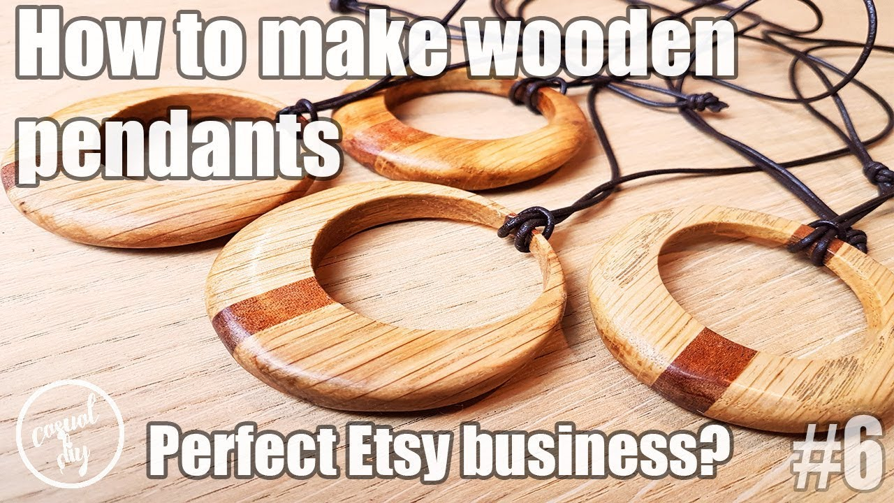 How to make wooden pendants perfect etsy business youtube how to make wooden pendants perfect etsy business aloadofball Image collections
