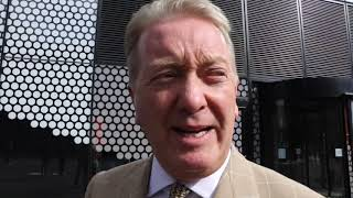 FRANK WARREN REACTS TO FURY v WILDER LONDON PRESSER & TALKS BILLY JOE SAUNDERS SITUATION