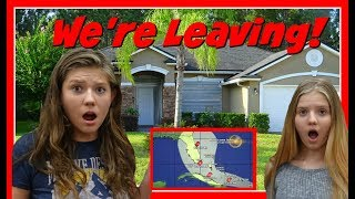 we are leaving florida    hurricane irma is coming    taylor and vanessa