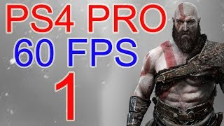 God of War Walkthrough Part 1 PS4 PRO 60 FPS - No Commentary God of war 4 Gameplay lets play