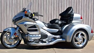 SOLD! New 2015 Honda Gold Wing GL1800HPM with CSC Viper Trike