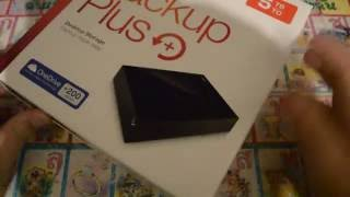 Seagate Backup Plus 5TB USB 3.0 Desktop External Hard Drive - Unboxing