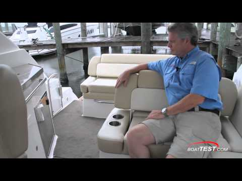 Regal 35 SC (Sport Coupe) Express Cruiser 2011 Detail Layout & Interior Design - By BoatTEST.com