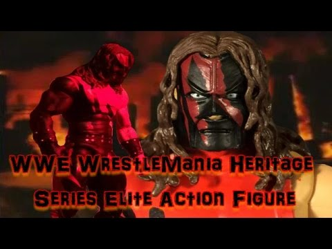 Download KANE WWE Elite WrestleMania Heritage Series Action Figure Review and Stop Motion Animation