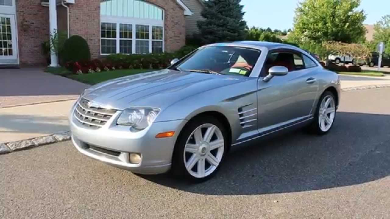 Review Of 2008 Chrysler Crossfire Limited Coupe For One Owner Only 26 171 Miles Loaded You