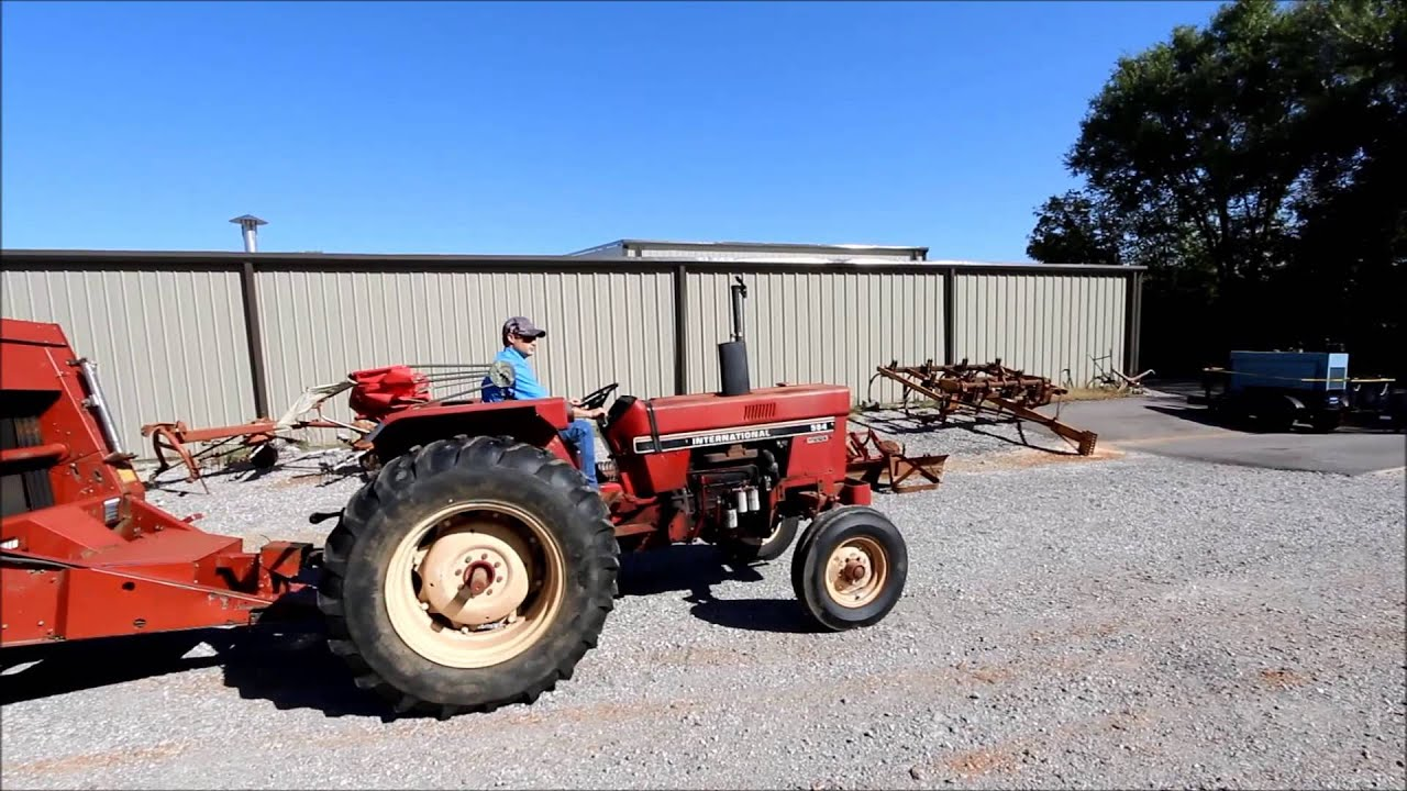584 International Tractor Online Only At Tays Realty Auction LLC