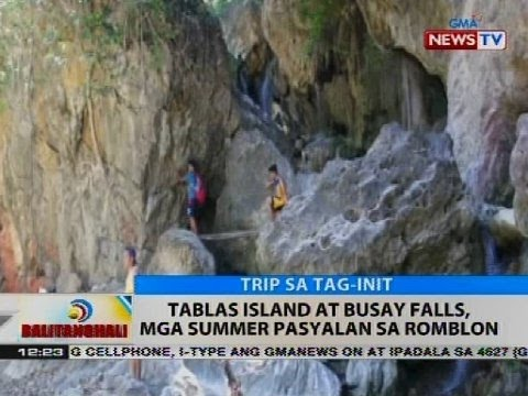 BT: Tablas Island at Busay Falls, mga summer pasyalan sa Romblon