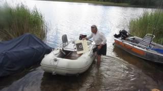 оснащение надувной лодки для рыбалки