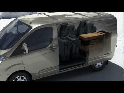 yeni ford tourneo custom flexibleseat sistemi nas l. Black Bedroom Furniture Sets. Home Design Ideas