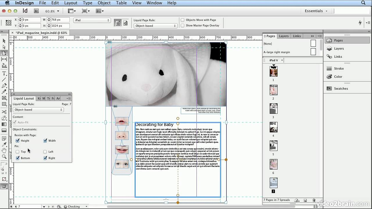 Adobe Indesign Cs6 Tutorial - 53 Alternate Layouts