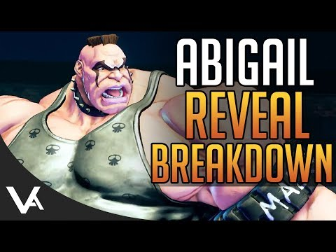 SFV - Abigail Gameplay Reveal Impressions! Quick Trailer Breakdown For Street Fighter 5