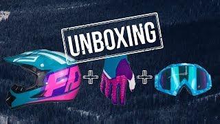UNBOXING | Capacete + Luva Fox Pawtector e Óculos Motocross (Ebay e Aliexpress)