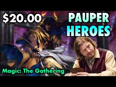 MTG - Instant Pauper Heroes! 2 Powerful $20 Decks For Magic: The Gathering