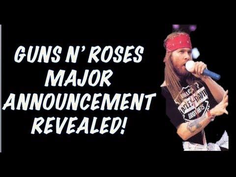 Guns N' Roses News  Major Announcement Revealed! More US & Canada Tour Dates Announced!