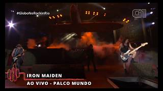 Iron Maiden - Aces High - Rock In Rio 2019 - UHD 60FPS