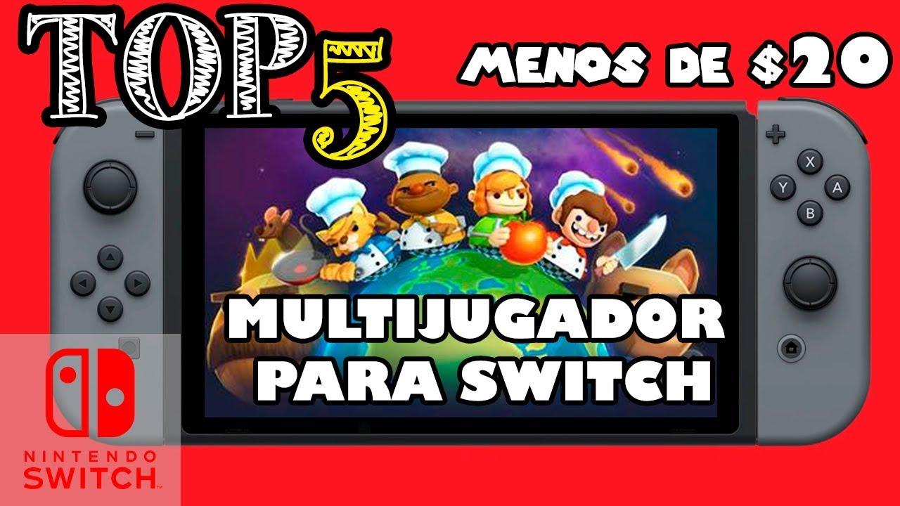 Top 5 Mejores Multijugador Para Nintendo Switch Por Menos De 20