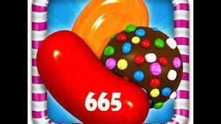 Candy Crush Dreamworld - Level 665 - 3 Stars - No Booster