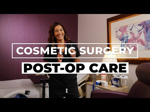 Cosmetic Surgery Post Operative Care: Everything You Need To Know