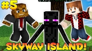 "Minecraft SKYWAY ISLAND Survival Map ""FINALE KILLING THE WITHER"" #5 w/ JeromeASF & BajanCanadian"