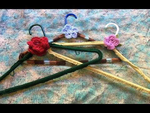 How To Make A Crocheted Hanger