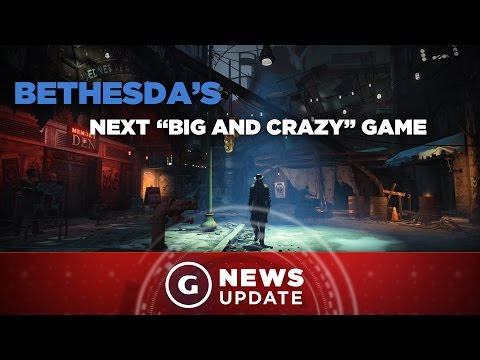 """Fallout 4 Dev Has Three """"Big and Crazy"""" Projects in the Works - GS News Update"""