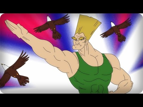 Guile's Theme now has lyrics, an explanation for Guile's eyebrows