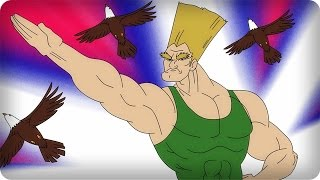 Repeat youtube video SONGS YOU DIDN'T KNOW HAD LYRICS: STREET FIGHTER II - GUILE'S THEME