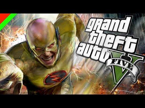 Grand Theft Auto V - Reverse Flash วายร้ายเหนือแสง (GTA V Mod,ตลก,ฮา)